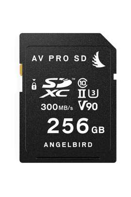 AVP256SD SD CARD UHS II V90 256GB Angelbird Memory Card UHS II V90 da 256 GB