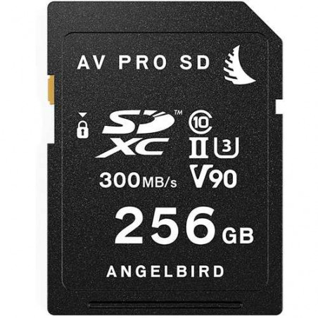 AVP256SDMK2V90 SD CARD UHS II V90 256GB Angelbird Memory Card UHS II V90 da 256 GB