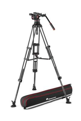Kit Nitrotech N12 +Treppiede Manfrotto twin in carbonio stella mediana