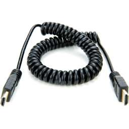 ATOMCAB011 ATOMOS cavo a spirale da HDMI a HDMI da 50cm